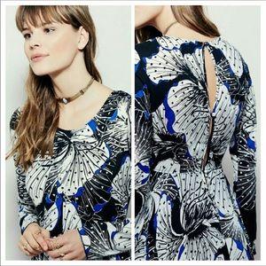 NWT Free People First Kiss Boho Maxi Floral Dress